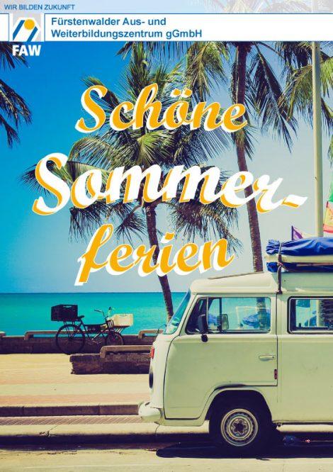 FAW_Schöne Sommerferien_2018_Plakat